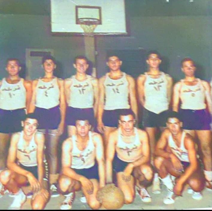 دمشق 1958 - فريق نادي الغوطة