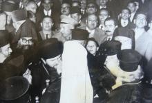 من زيارة البطريرك البلغاري إلى دمشق - مطار المزة عام 1962