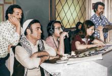 صور تاريخية ملونة - دريد لحام ومحمد العقاد خلف الكواليس