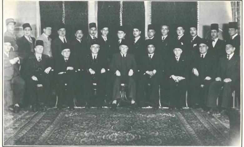 أعضاء محكمة التمييز السورية عام 1942