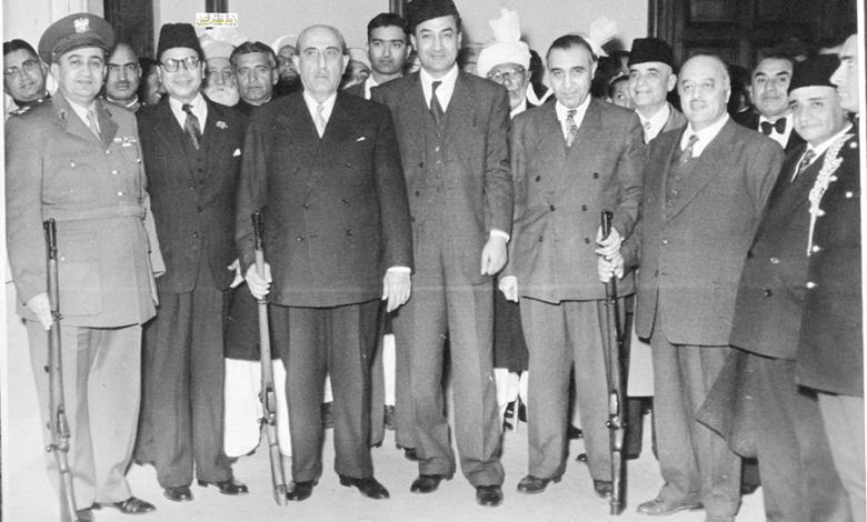 زيارة شكري القوتلي إلى الباكستان عام 1957 (16/15)