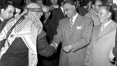 آذار 1958 - من زيارة جمال عبد الناصر إلى سورية (1)
