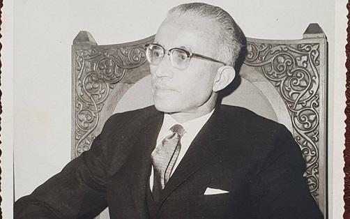 الرئيس ناظم القدسي عام 1962