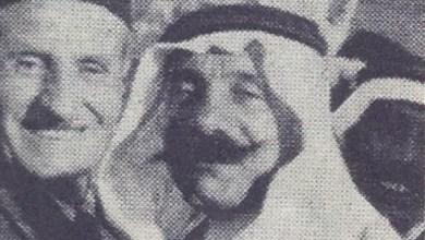 عبد الرحمن الشهبندر مع سلطان الأطرش