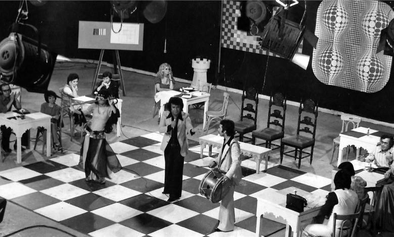 موفق بهجت في برنامج أبيض وأسود - التلفزيون السورية 1979م