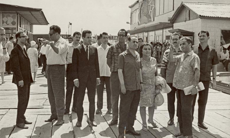 نجاح ساعاتي مع وفد جمعية الصداقة السورية - السوفيتية في موسكو عام 1970 (2)