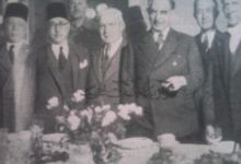 نوري السعيد في دمشق عام 1944