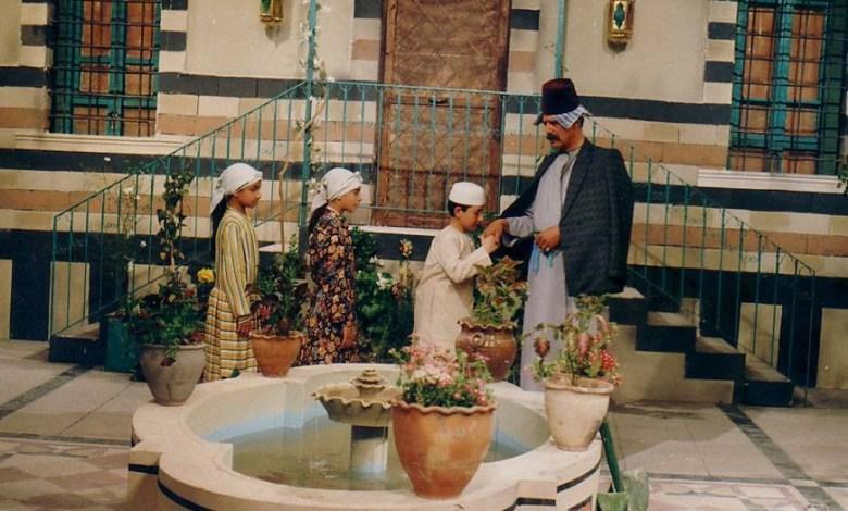 الفنان خالد تاجا في مسلسل أيام شامية عام 1992