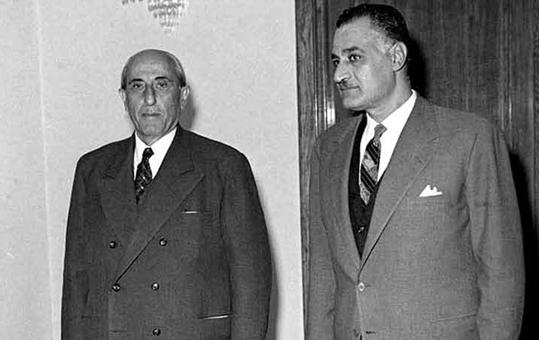 اجتماع شكري القوتلي مع جمال عبد الناصر 1961 (4)