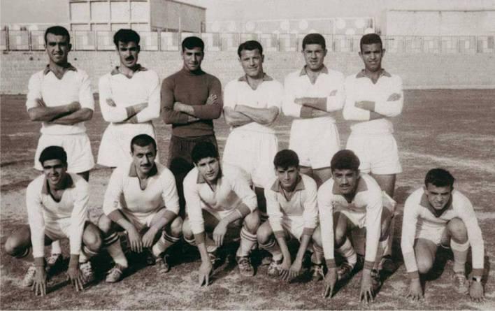 فريق نادي دمشق الأهلي عام 1963