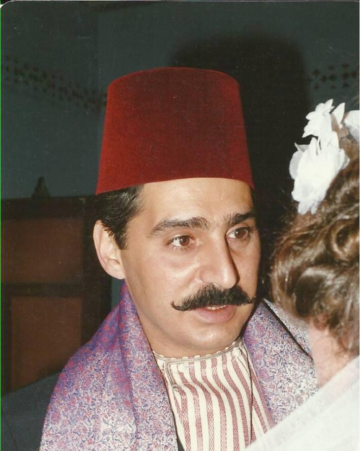 عباس النوري في مسلسل أيام شامية عام 1992