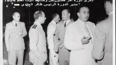 ذكرى دورة آمر فصيل نقل وضابط آليات عام 1954  (3)