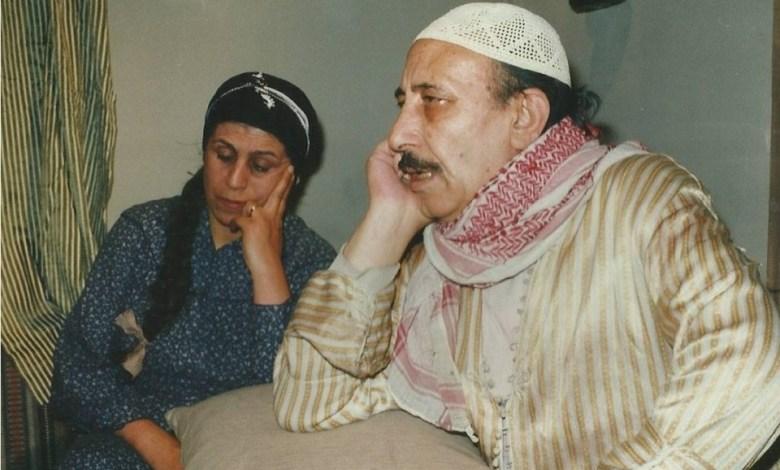 علي الرواس وخديجة العبد في مسلسل أيام شامية عام 1992