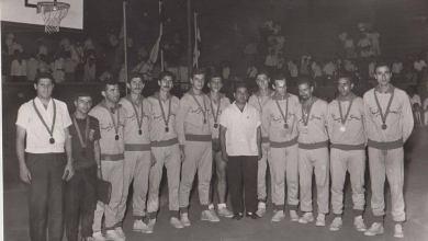 المباراة النهائية الدورة العربية الرياضية الرابعة بالقاهرة عام 1965م