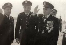 أديب الشيشكلي وجمال الفيصل في العرض العسكري بمناسبة شراء أول صفقة أسلحة (2)