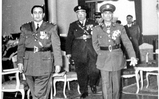 الزعيم توفيق نظام الدين عام 1954