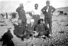 توفيق نظام الدينفي مخيم تدريب الكلية الحربية في النبك 1934 (3)