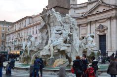 Bernini Fontana dei Quattro Fiumi