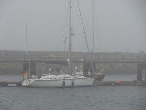 Helgoland - mal wieder im Nebel