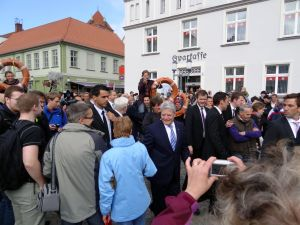 Bundespräsident Gauck in Greifswald