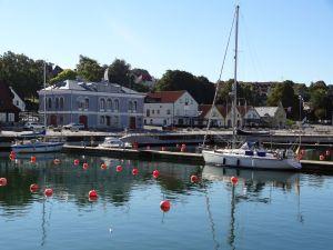 Gästehafen von Visby
