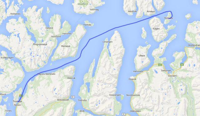Tromsoe - Skjervoy