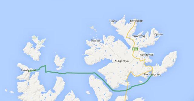 Honnigsvag - Havoysund