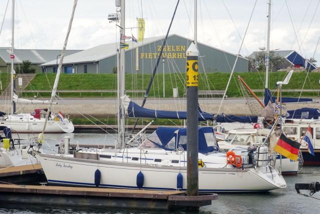 Liegeplatz in Vlieland