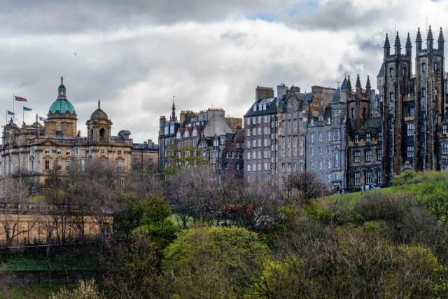 Old Town von Edinburgh