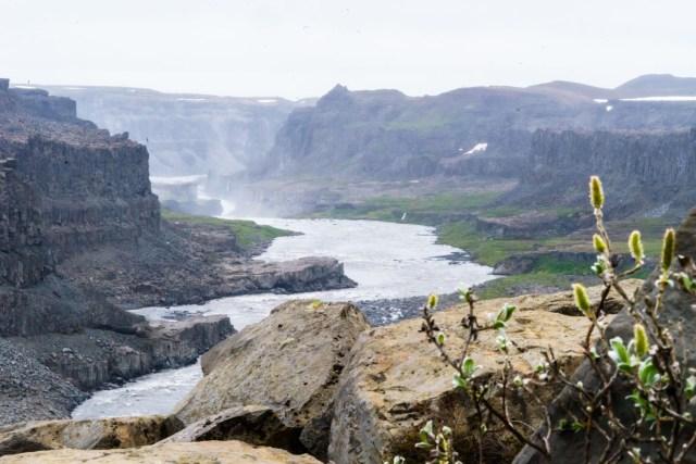 Canyon am Hafragilsfoss