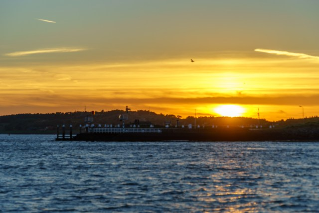 Vlieland im Sonnenuntergang