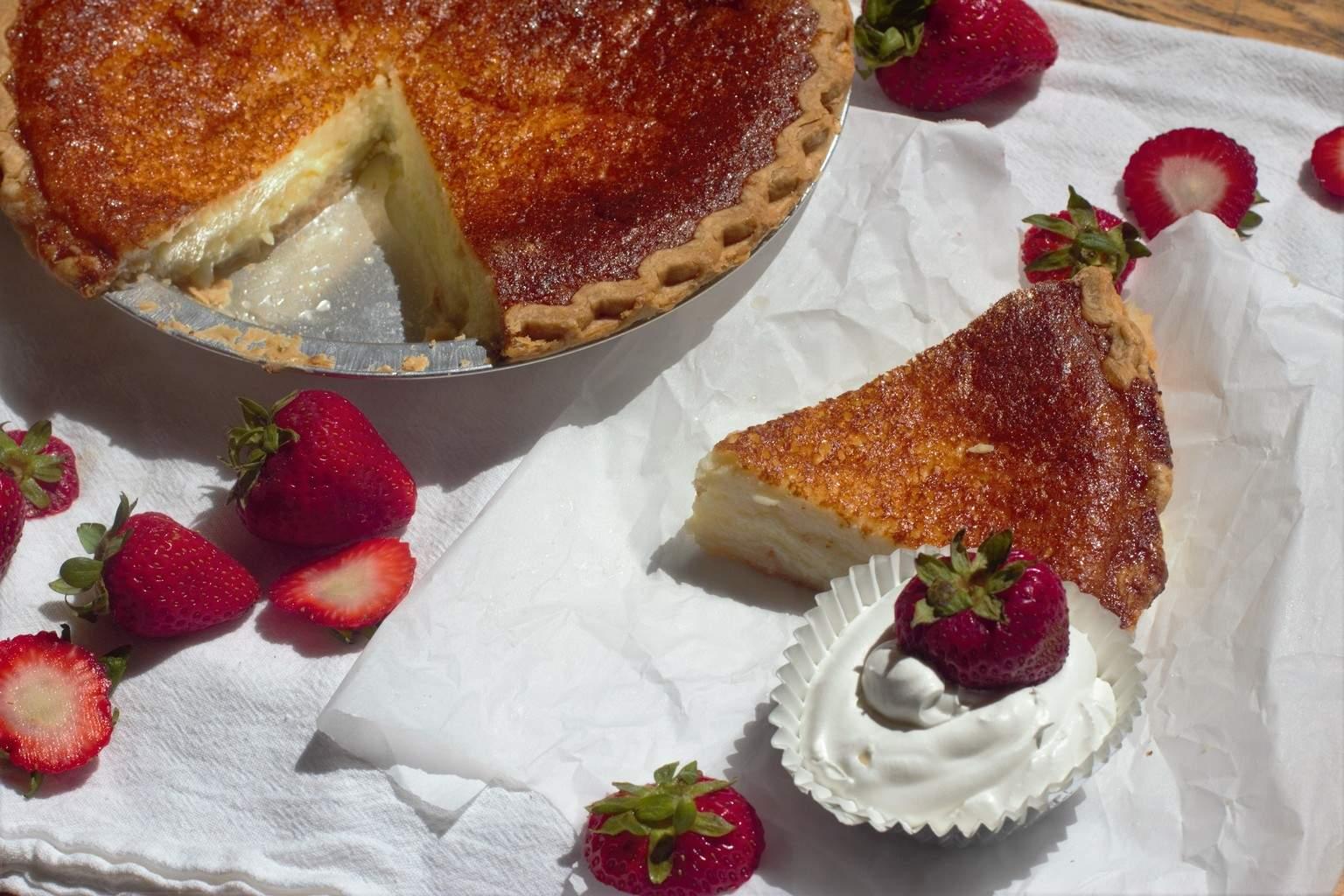 Southern Buttermilk Pie