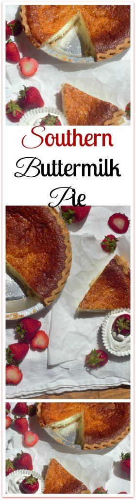 Southern Buttermilk Pie. A nostalgic pie that's creamy, cool, lemony and perfect in every way.