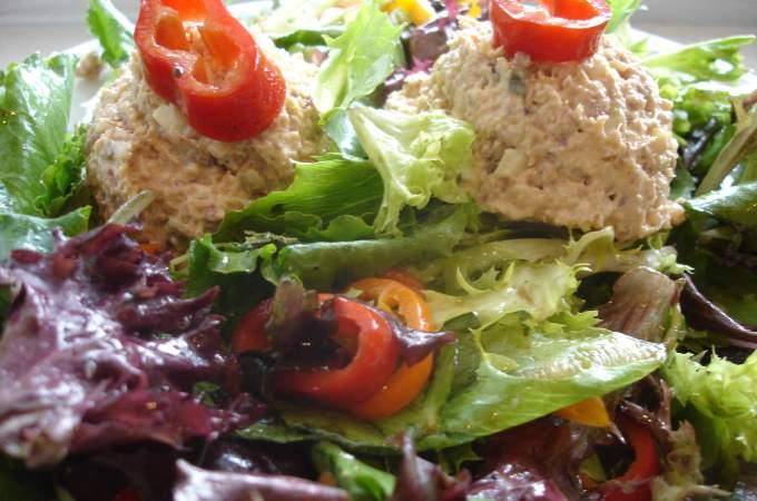 ham salad, mossy trees 004