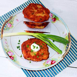 Baked Potato Fritter