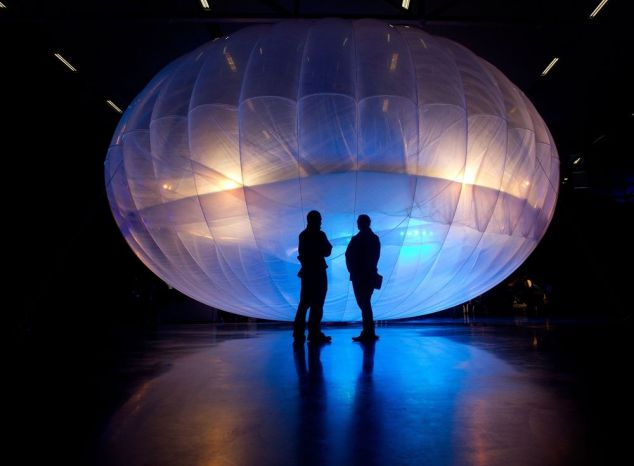 Google's Loon balloon