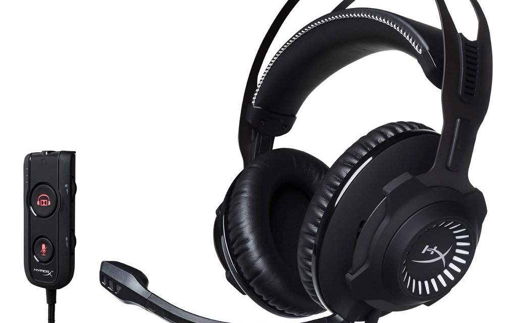 HyperX HX-HSCR-GM Cloud Revolver, Cuffie Gaming per PC/PS4/Mac