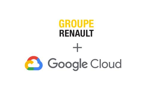 L'intelligenza artificiale di Google sulle automobili Renault