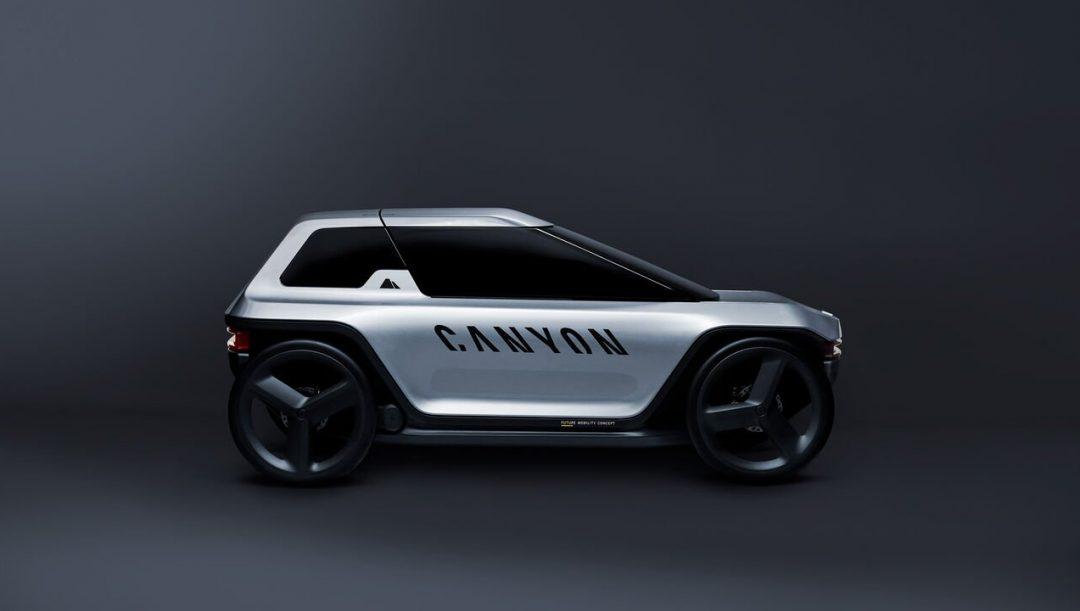Canyon Future Mobility Concept: la citycar elettrica a pedali