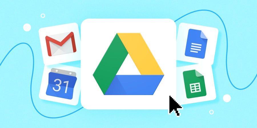 Come condividere una cartella su Google Drive