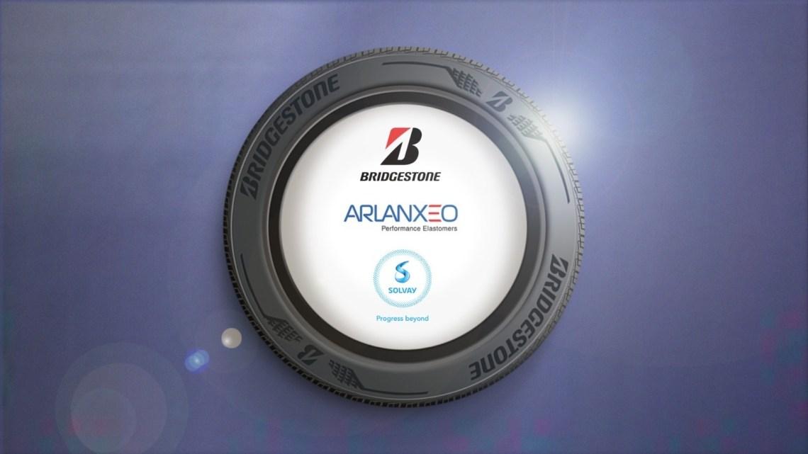 Bridgestone, Arlanxeo e Solvay lanciano Techsyn