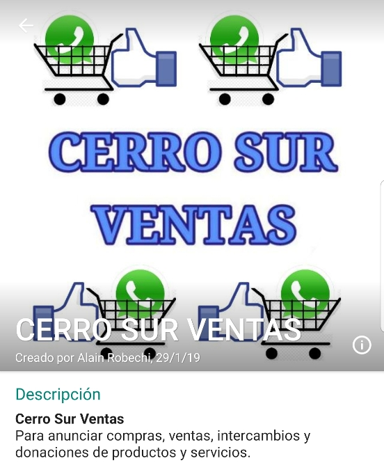 Cerro Sur Ventas
