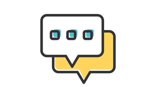 Pontuação pode ter um fator negativo nas conversas online?