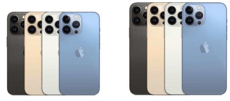 iPhone 13 Pro e iPhone 13 Pro Max