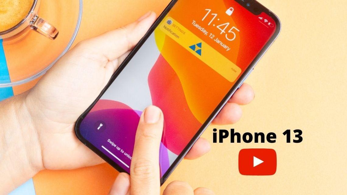 iPhone 13 e o novo video official da Apple