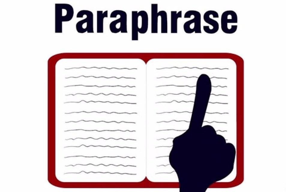 Paraphrase du texte: sites web pour réécrire un texte avec d'autres mots en ligne en anglais