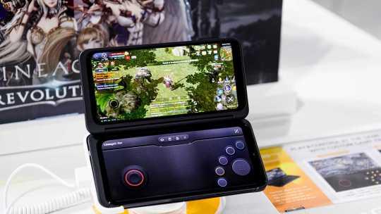 El nuevo teléfono inteligente de LG ideado para «gamers»