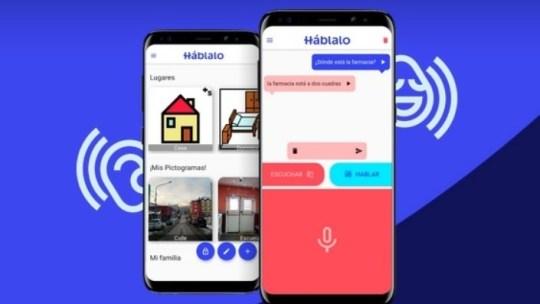 Háblalo una app de comunicación inclusiva