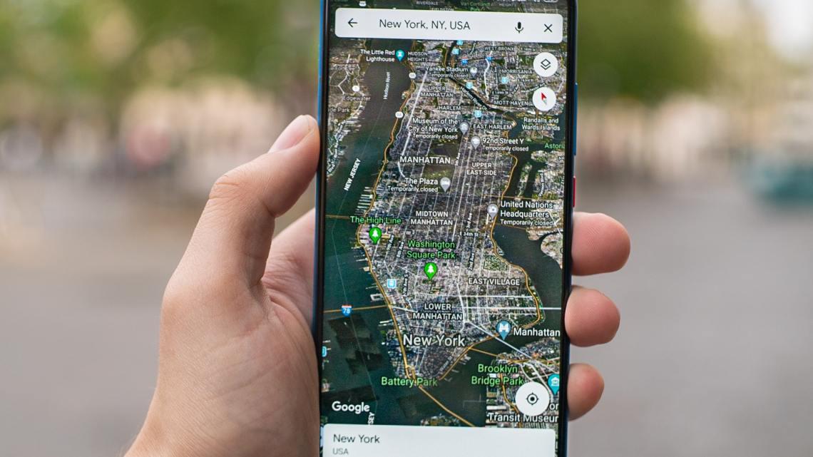 El modo oscuro de Google Maps llegará pronto a los usuarios de iPhone
