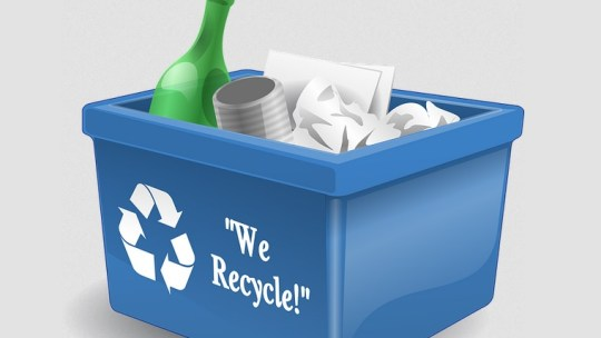 How to recycle at home